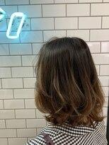 ヘアーシー(HAIR C,)[HAIR C shoichi]色っぽふんわりミディグラデーション