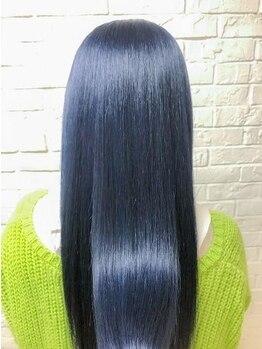 ヘアサロン エフ(HairSalon F)の写真/ブリーチを繰り返した髪にも目に見える効果!ULTOWAトリートメント!