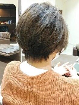 イースタイル 豊田大林店(e style)の写真/プロのスタイリストが高い技術でバランスよく仕上げます☆お家でも再現できるスタイルを手に入れてみては??