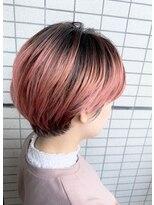 カイル (KAIL)ハイトーンピンク 【仙台東口美容室 KAIL】 ショートカット