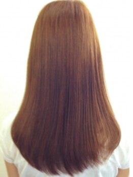ラポール ヘア イオンタウン弘前樋の口店の写真/コスメ縮毛矯正でナチュラルでまとまるストレートをご提供♪自然な柔らかさが続く♪お試しください♪