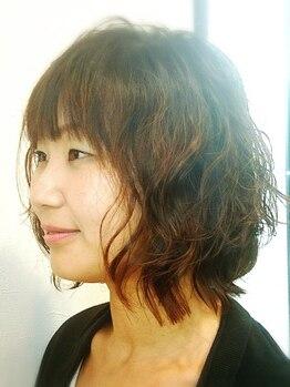 ヘアーメイク スプラウト(hair make sprout)の写真/【網干】パーマをあてるならsprout☆ダメージレスなだけでなく種類/知識/経験豊富だから理想の仕上がりに♪
