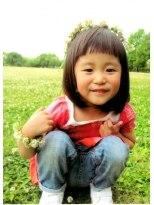 キッズの【La na】 SPRING KIDS BOB画像
