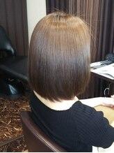 髪質改善サロン リーフ(Leaf)縮毛矯正がバレないボブ