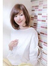 エム 綾瀬店(hair make e6+)大人女性エレガントボブ