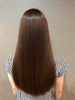 プライベートサロン フェディス(private salon Fedis)の写真/[髪質改善ミネコラ正規取扱店]話題の髪質改善☆水素の力で憧れの艶髪に、思わず触れたくなる髪に導きます♪