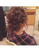 ルース ヘアアンドメイク(Luz hair&make)ヘアアレンジ