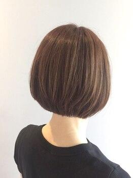 ヘアーメイク セラヴィ(Hair Make C'EST LA VIE)の写真/一人ひとりの髪質や雰囲気を見極め、あなたに一番似合うスタイルをご提案☆360°綺麗なシルエットに!