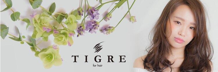 ティグルフォーヘア(TIGRE for hair)のサロンヘッダー