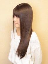 シャンリッチゆうき艶髪ストレートスタイル