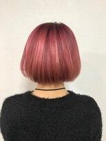 ポッシュ 原宿店(HAIR&MAKE POSH)ピンクカラー