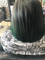 ヘアデザイン ダブル(hair design Double)グラデーションカラー