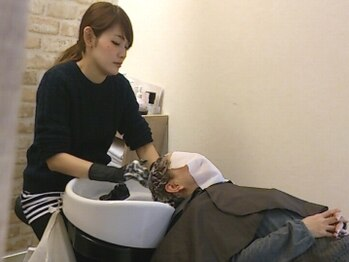 リエール(Lier.)の写真/【御器所/駐車場完備】技術はもちろん品質にもこだわる!頭皮と髪のケアが同時にできるモエモエプレミアム!!