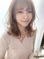 韓国風スタイル(前髪大人かわいいココアブラウン)