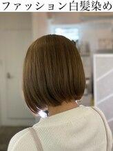 ツムグ 田園調布店(TUMUGU)白髪をおしゃれにしたい方/ケアブリーチ×ファッション白髪染め