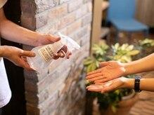 ◆手指除菌・検温◆ ご来店時の手指除菌・検温のご協力のお願い&施術スタッフの手指除菌・検温の徹底