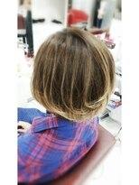 ヘアーアンドメイク ポッシュ 根岸店(HAIR&MAKE POSH)バレイヤージュグラデーションカラー