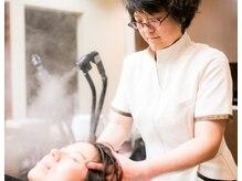 トータルビューティ ブラッシュの雰囲気(ヘアマスクで髪の土壌である頭皮をマッサージ♪毛先まで艶髪に)
