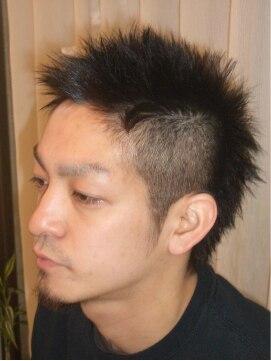ヘアーリメイク マイ(hair remake Mai)黒髪をいかして清潔感のあるワイルドさを!
