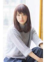 ラフ フロム ガーデン(Laf from GARDEN)【寺尾拓巳】大人かわいいイルミナカラーピンクベージュミディ