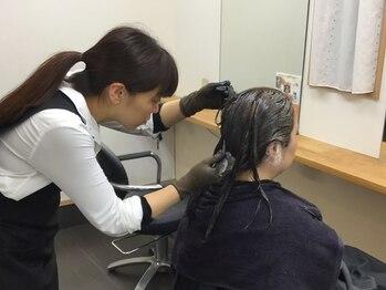 イロドリ 美容室 ポルト(irodori)の写真/【上質フルカラー&カット¥7776~】お客様の髪にIRODORIをプレゼントするためにカラーの価格を見直しました!