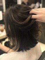 イーチ ディー ヘアーアンドトータルビューティー(each dee hair&total beauty)グレーパールインナーネイビー