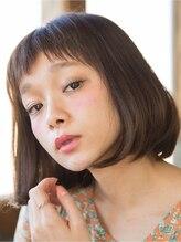 ミーア ヘアデザイン 横浜(MIIA hair design)大人可愛い☆ショートバング×グレイッシュカラー☆ 【横浜】