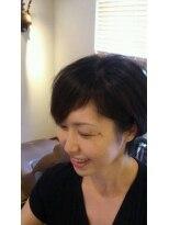 モイヘアーデザイン(moi hair design)大人ショートボブ