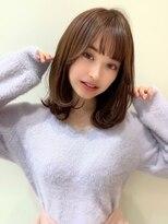 ビューティーコネクション ギンザ ヘアーサロン(Beauty Connection Ginza Hair salon)大人可愛い外ハネミディ