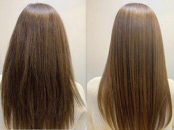 """ストア アンバースデー(Store UNBIRTHDAY)の写真/業界最新技術!""""酸性ストレート""""酸性の薬剤を使用して髪への負担を軽減!気になるクセやうねりを改善◎"""