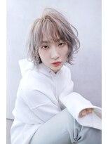 アルマヘア(Alma hair)【Alma】ネオウルフレイヤー☆ホワイトアッシュベージュ