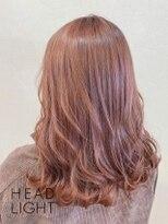 フローレス バイ ヘッドライト 三鷹店(hair flores by HEADLIGHT)ピンクベージュ_SP20210229