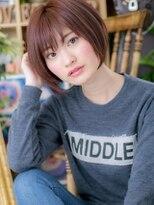 ★大人かわいいピュアガーリー 小顔マッシュボブ★3