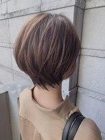 ベックヘアサロン 広尾店(BEKKU hair salon)大人かわいい小顔に見せるひし形ショートボブヘア