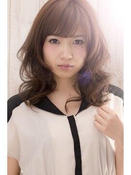 ハナブサ 藤江店(HANABUSA)モテ髪!愛されミディアムパーマ