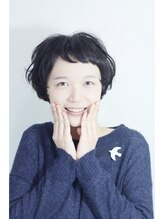 ヘアーメイク ハル(hair make halu)【halu】 黒髪ナチュラルショート
