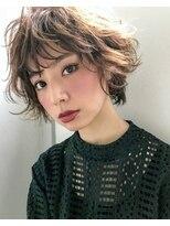 アヴァンス 北花田店(AVANCE)ひし形シルエット×シースルーバングのエアリーショート