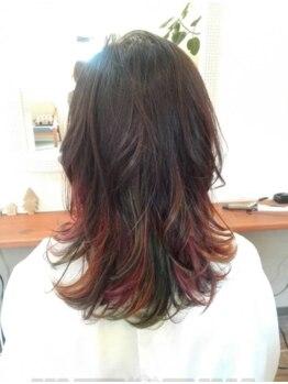 パーチェム ヘア デザイン(Pacem hair design)の写真/お客様一人一人に合わせたカラーをご提案致します☆髪がどんどんキレイになるイルミナカラーもご用意♪