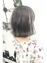 ヘアーサロン エール 原宿(hair salon ailes)(ailes原宿)style デザインカラー☆アッシュグレージュ