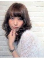 ヘアーブランド リンク 三宮店(HAIR BRAND Link)甘めスウィートセミディ