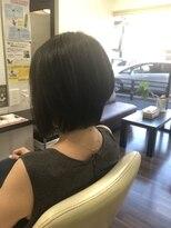 ヴィオレッタ ヘアアンドスペース(VIOLETTA hair&space)グラデーションボブ×ダークブラウン×大人女性[塚口美容室]