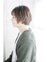 シュシュット(chouchoute)小顔セミウェットウェーブハイライトカラー美髪オリーブカラー37