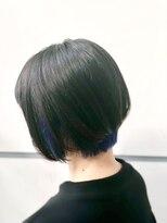 マルカ(marca)【Color Style】こっそりダークブルーインナーカラー♪