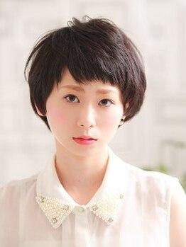 バグース ヘアーメイク アクシス(BAGUS hair make axis)の写真/[北綾瀬駅1分]この先もお洒落でいたい大人女性へ―気になる白髪もワンランク上の最旬カラーで、ツヤ髪に♪