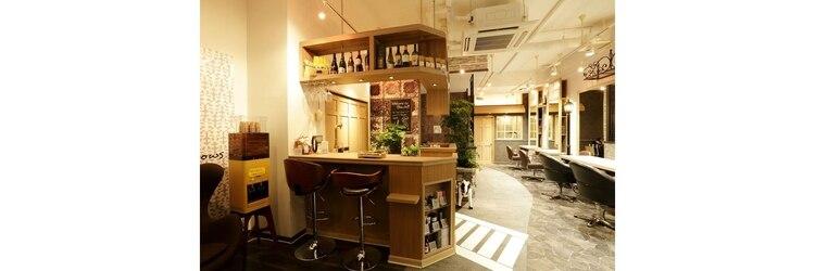 ハッチ ヘアーファクトリー 川越店(8 hacchi hair factory)のサロンヘッダー
