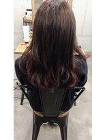 インナーカラー pink