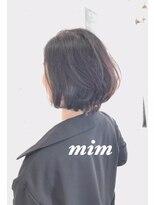 アトリエ ミム 二子玉川店(atelier mim)ショート×グレイカラー×髪質改善<二子玉川店>