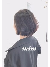 アトリエミム(atelier mim)春ショート【atelier mim二子玉川店】