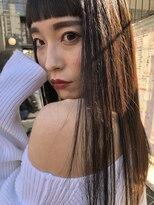 フェス カットアンドカラーズ(FESS cut&colors)【FESS】艶ストレート