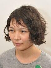 クゥ(Qoo)短い前髪とAラインでフレンチカジュアルヘアー